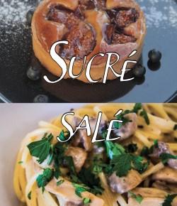 Sucré/Salé (recettes de la saison) n°185