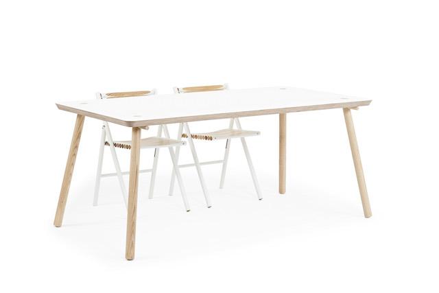 Reinier de Jong | Stip eettafel | C-More Concept Store