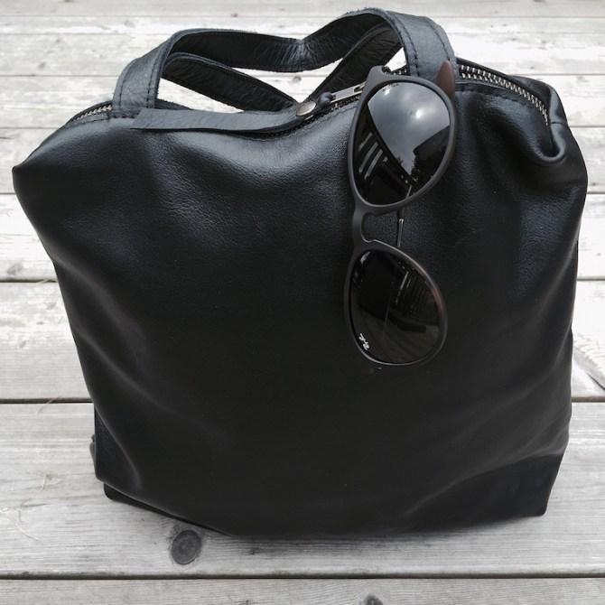 Handtas Stella zwart + bril | Triple Pink | C-More Concept Store