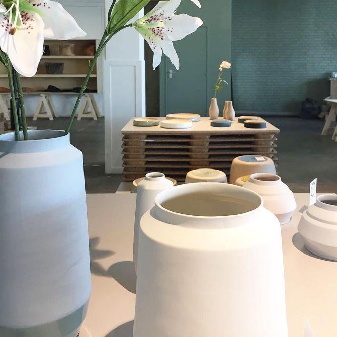 Hella Duijs | Made in Nijmegen | Vaasjes | Keramiek | C-More Concept Store | HonigComplex Nijmegen