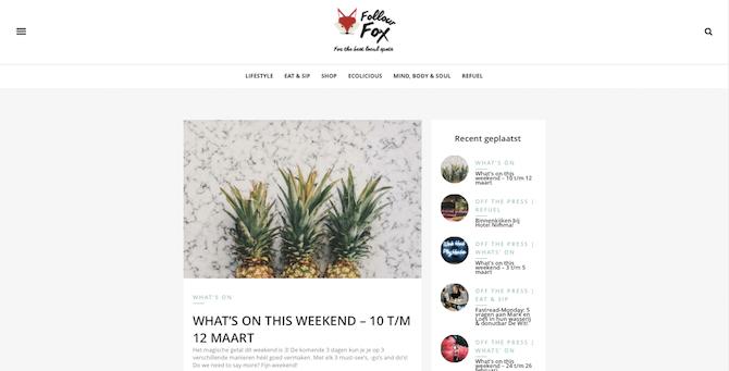 Follow Fox 24 | C-More Concept Store | Honig Complex Nijmegen