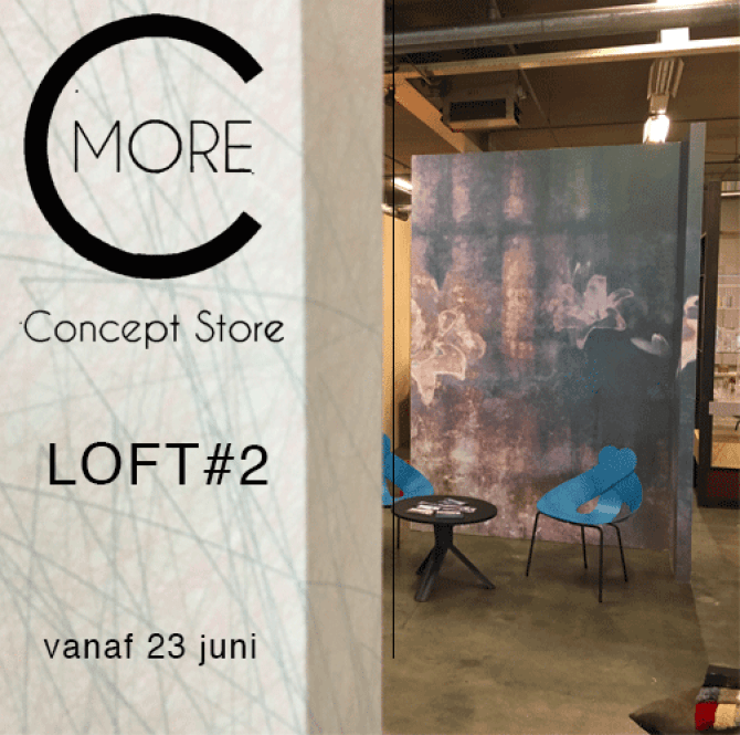uniek behang | WorkingBert | C-More Concept Store | LOFT|ROOM#2
