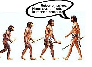 evolution-Foutre-la-merde