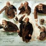 jaures tribun (« 31 juillet 1914, Jaurès est arrivé tard à L'Humanité… » 2/4 – Une « gueule », une présence charnelle)