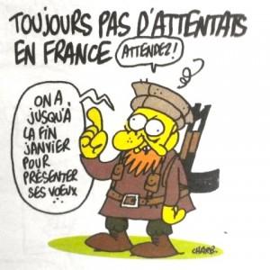 Dernier Charb. Prémonitoire…