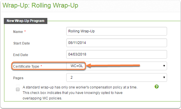 CR-Insight® Setup Wrap-Up Certificate