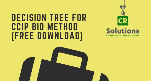 Decision Tree for CCIP Bid Method
