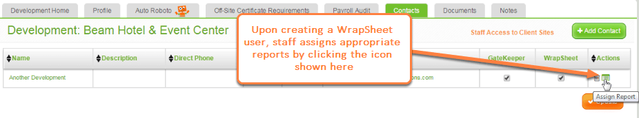 How to Generate WrapSheet® Reports