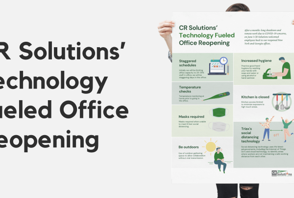 CR Solutions' Technology Fueled Office Reopening Blog Graphic