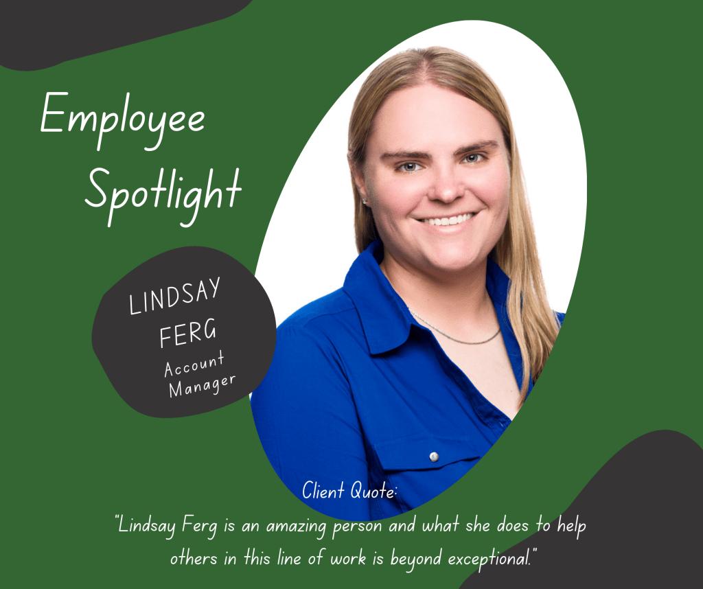 Employee Spotlight Lindsay Ferg