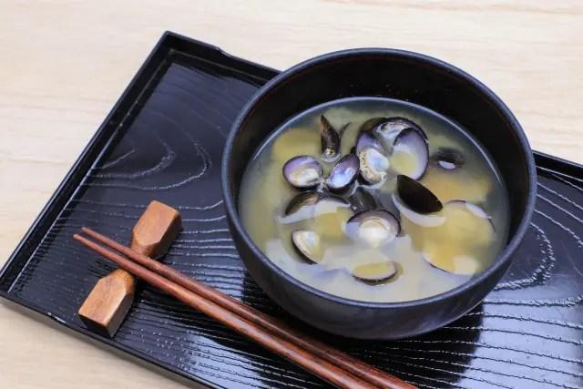 シジミ味噌汁