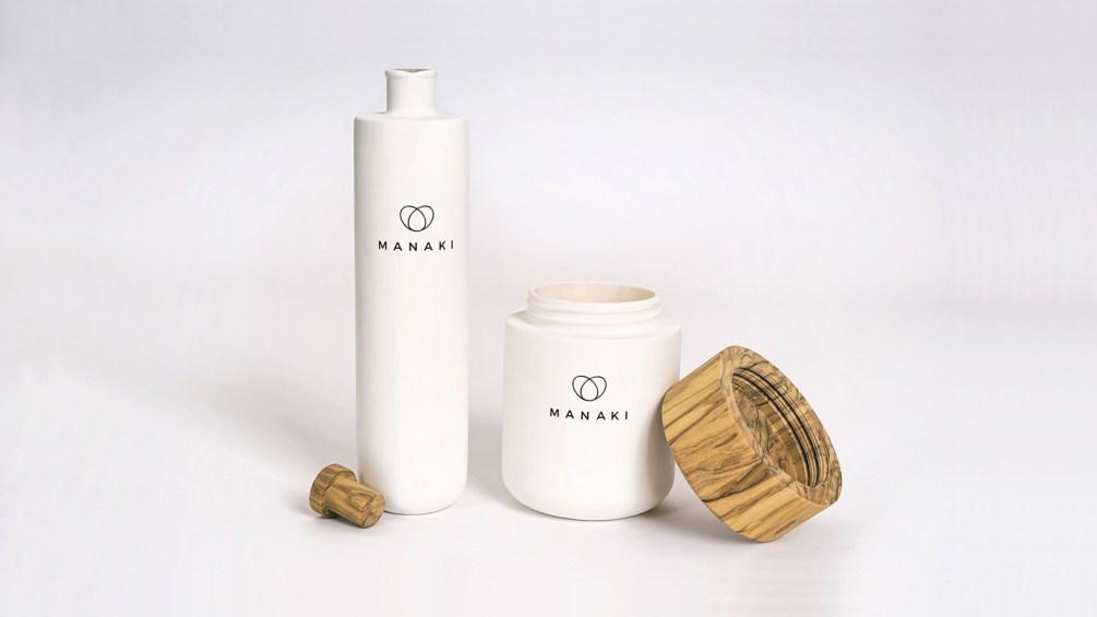 Manaki-Oelflasche-Olivenglas