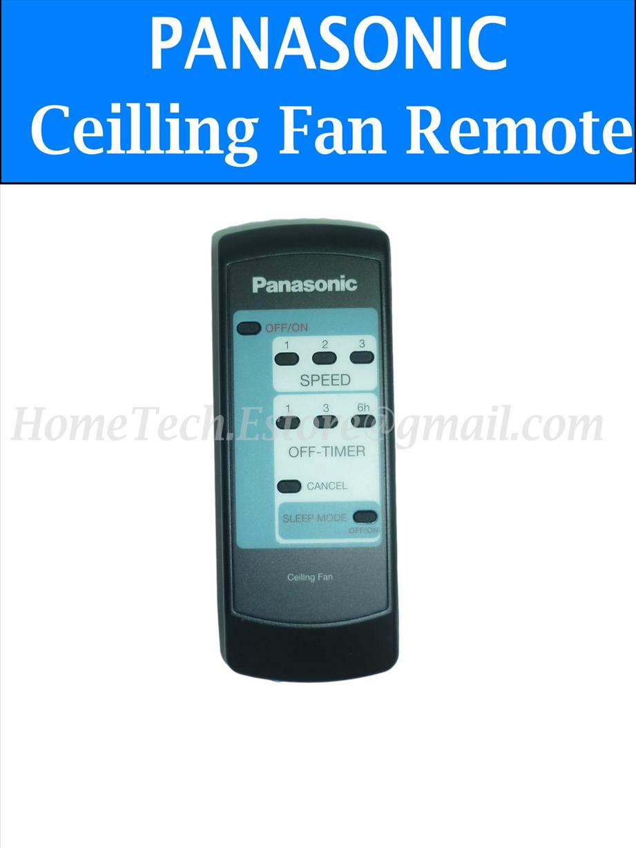 Ceiling Fan Remote Control For Panasonic 4 Blades Original