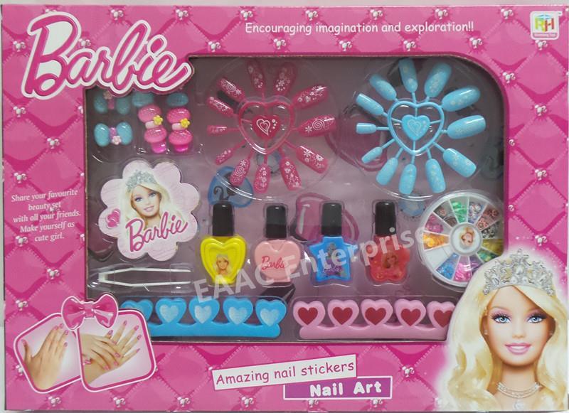 Diy Designable Barbie Nail Art Deluxe Estic Craft Kit