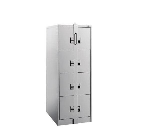 Lateral Locking Wood Cabinets