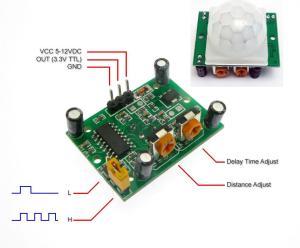 HCSR501 Motion sensor Arduino IR B (end 12152022 7:15 PM)