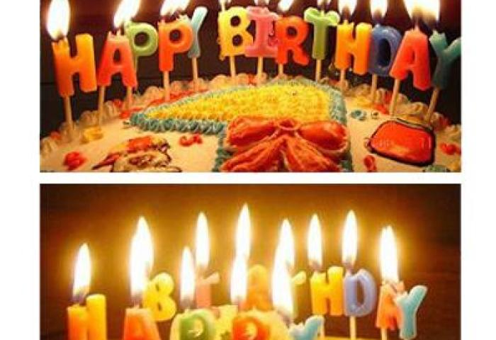 Ho066 Happy Birthday Candle 13 Lett End 6202021 1033 Pm