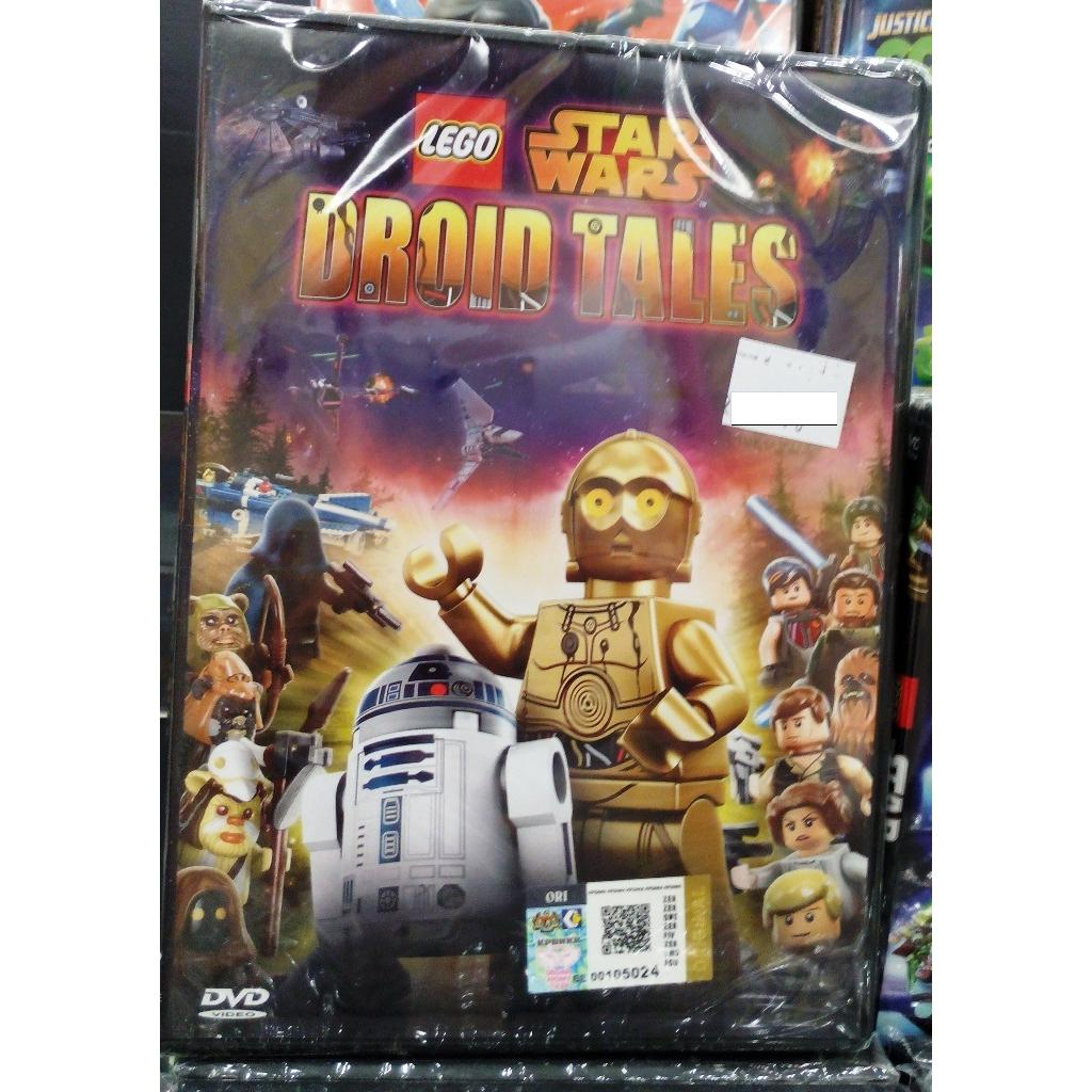Lego Anime Star Wars Droid Tales Dvd