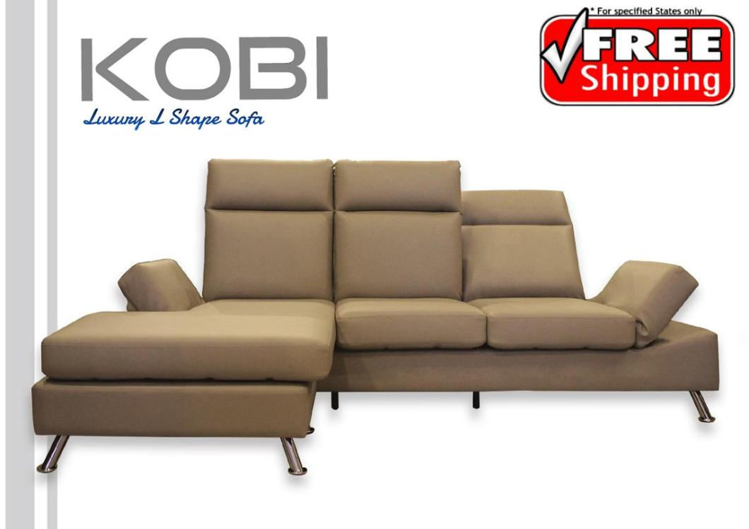 Luxury L Shape Sofa Free Delivery