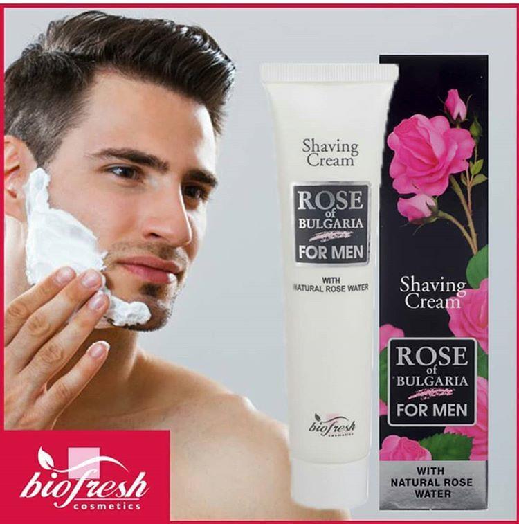 Rose Shaving Cream  Ml Biofresh Rose Of Bulgaria