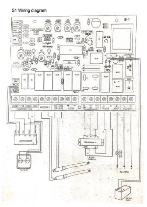 S1 Autogate Swing Control Board PCB (end 4222018 9:15 PM)