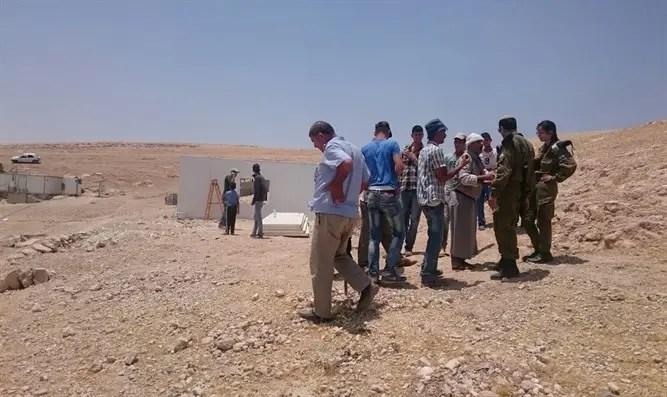 Illegal Arab settlement