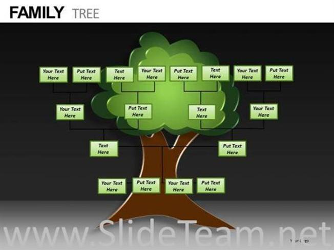 EDITABLE FAMILY TREE POWERPOINT TEMPLATES PowerPoint Diagram EDITABLE FAMILY TREE POWERPOINT TEMPLATES  Related PowerPoint Templates