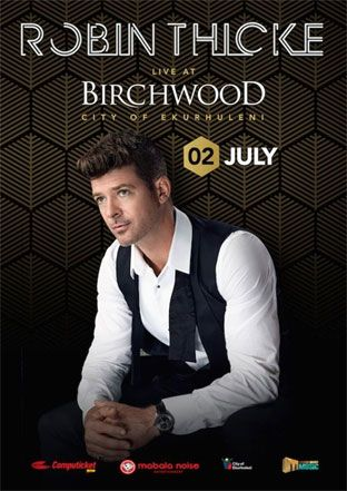 Robin Thicke set to perform at The Birchwood Hotel