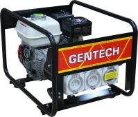 Gentech Honda 3.4kVA Generator with Worksafe RCD Outlets, 2yr Warranty