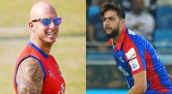 'Don't make me run so much': Herschelle Gibbs takes a cheeky dig at Imad Wasim