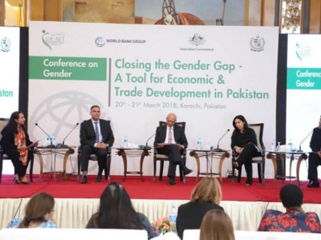 ڈی جی ٹریڈ پالیسی نے خواتین کی مالی وسائل تک رسائی کیلیے اقدامات سے آگاہ کیا۔ فوٹو: سوشل میڈیا