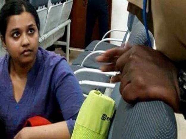 ریسرچ اسکالر صوفیہ لوئس نے مودی حکومت کو فاشسٹ کہا تھا۔ فوٹو : بھارتی میڈیا