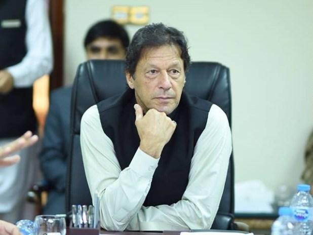 Prime Minister Imran Khan arrives in Karachi on first official visit