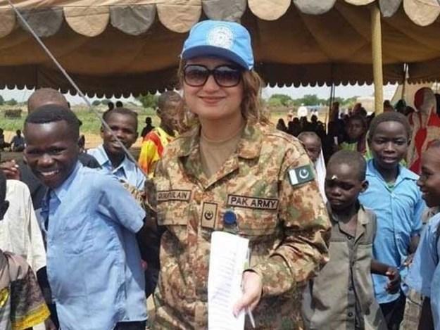پاکستان نے اقوام متحدہ مشنز میں خواتین کی شمولیت کا ہدف حاصل کرلیا، ڈاکٹر ملیحہ لودھی فوٹو:فائل