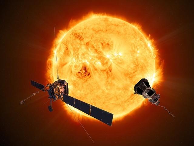 سورج کے قطبین پر تحقیق کےلیے خلائی کھوجی روانہ