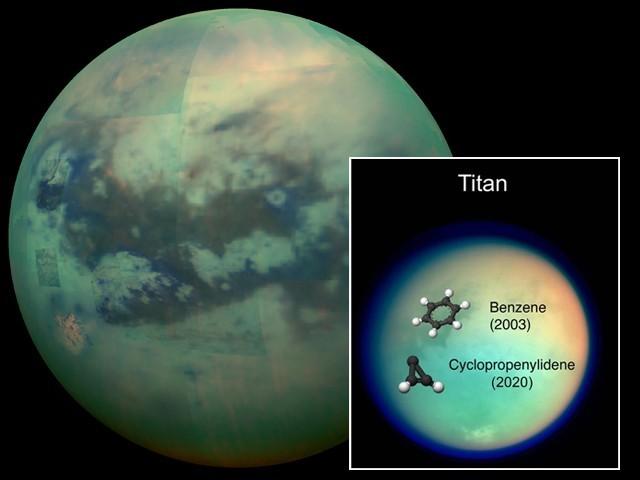 زحل کے چاند پر بھی زندگی کا ایک اہم کیمیائی مرکب دریافت