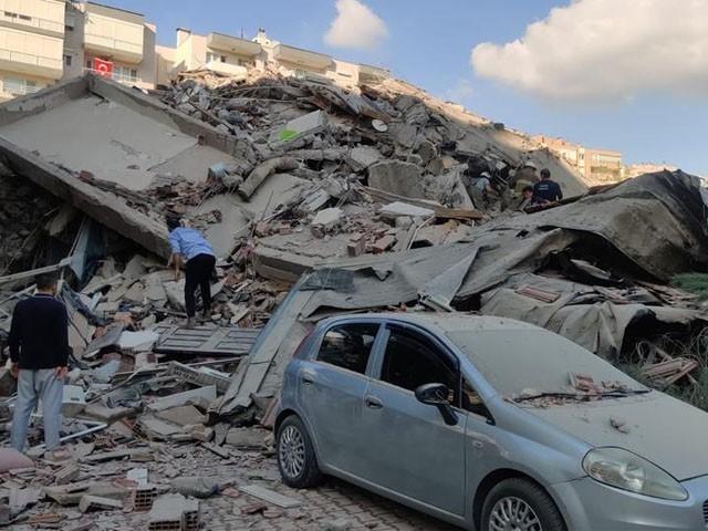 ترکی اور یونان میں زلزلہ، 14 افراد ہلاک اور 20 سے زائد عمارتیں زمین بوس