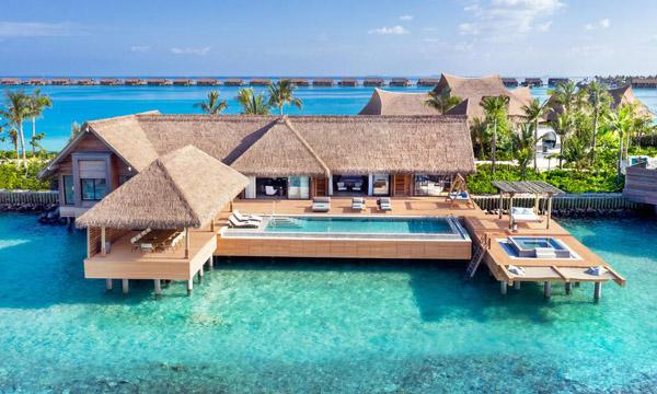 مالدیپ پرآپ کا ذاتی جزیرہ، 24 گھنٹے کا کرایہ 80 ہزارڈالر