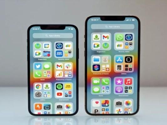 آئی فون 13 میں اینڈرائیڈ فونز کی طرح 'آلویز آن ڈسپلے' اور ' انڈر ڈسپلے فنگر پرنٹ اسکینر' متعارف کروائے جانے کا بھی امکان