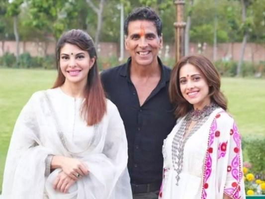 اکشے کمار ان دنوں فلم 'بچن پانڈے' کی شوٹنگ میں مصروف ہیں