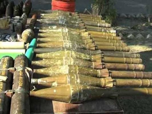 تخریب کار اس اسلحے کو ضلع میں بڑی تخریبی کارروائی میں استعمال کرنا چاہتے تھے، اے سی کوہلو۔ فوٹو:فائل