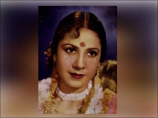 خورشید بانو بھارتی سنیما کی ایک گلوکارہ اور اداکارہ تھیں. (فوٹو: فائل)