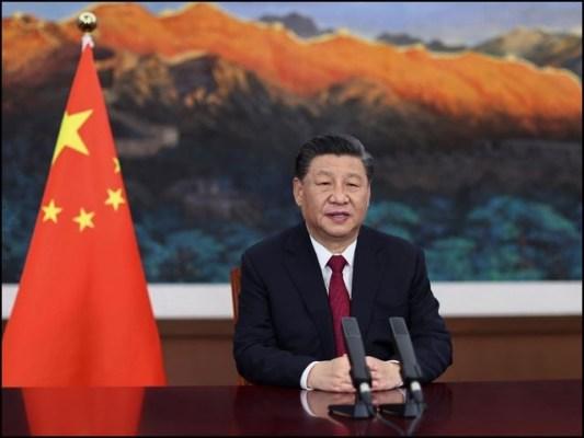 چینی صدر شی جن پھنگ نے کہا کہ عالمی معاملات کو مشترکہ مشاورت کے ذریعے حل کرنا چاہیے۔ (فوٹو: چائنا میڈیا)