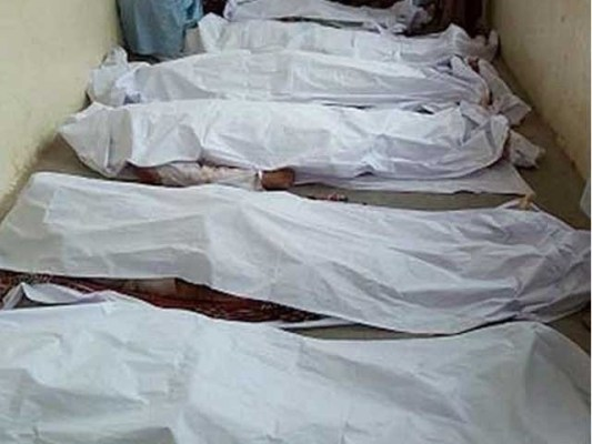 لاشوں اور زخمیوں کو سول اسپتال منتقل کر دیا گیا، پولیس۔ فوٹو:فائل