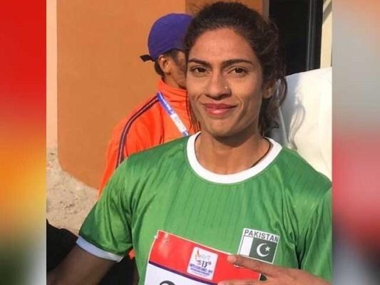 اپنی برق رفتاری کی وجہ سے نجمہ پروین کو پاکستانی یوسین بولٹ بھی کہاجاتا ہے