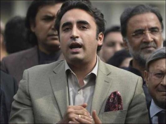 عمران خان کی حکومت نے سندھ کے حصے کا پانی روک کر سفاکیت کی انتہا کردی، بلاول بھٹو (فوٹو : فائل)