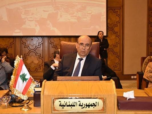 لبنانی وزیر خارجہ نے اپنا استعفیٰ صدر میشال نعیم عون کو پیش کردیا، فوٹو: فائل