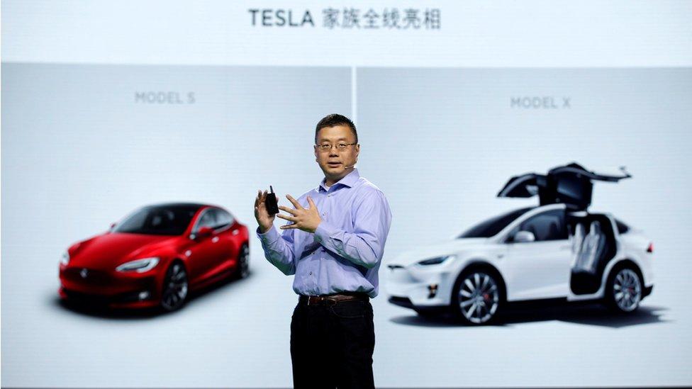 Robin Ren, vicepresidente de Tesla Motors