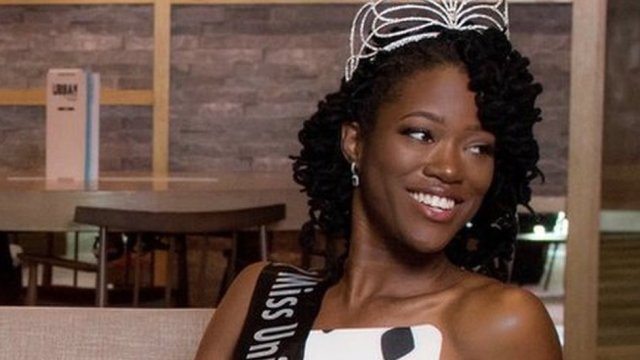 First black Miss Universe GB on her historic win