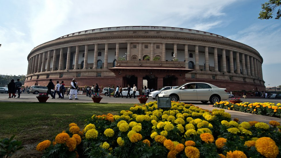 Picture of Indian parliament